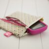 Pochette-13x13cm-Coton-MLB-Or-FreeStyle