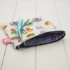 Pochette-13x13cm-Coton-MLB-Smiley-Bleu-Interieur